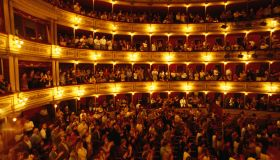 Uruguay, Montevideo, Teatro Solis (Solis Theater) interior