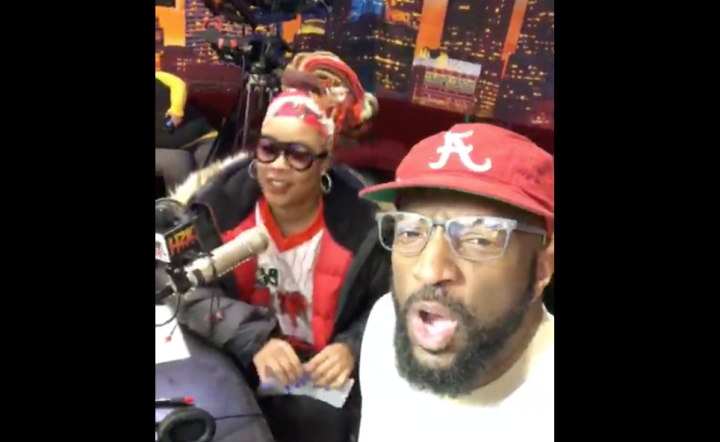 Rickey Smiley and Da Brat