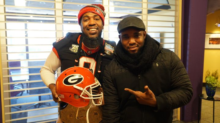 Rickey Smiley & Pastor Troy