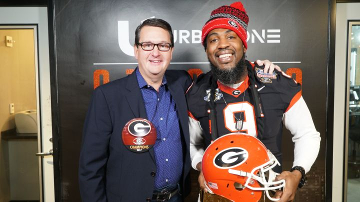 Urban One/Atlanta VP/GM Tim Davies & Pastor Troy