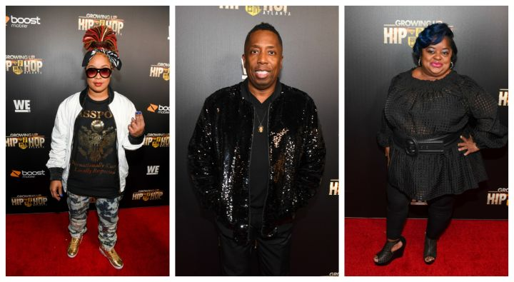 "Da Brat, Gary With Da Tea & Juicy At The ""Growing Up Hip Hop: Atlanta"" Premiere"