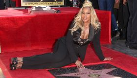 Mary J. Blige Honored With Star On The Hollywood Walk Of Fame