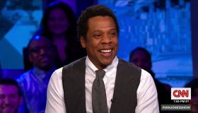 Jay-Z during an appearance on CNN 'The Van Jones Show.'
