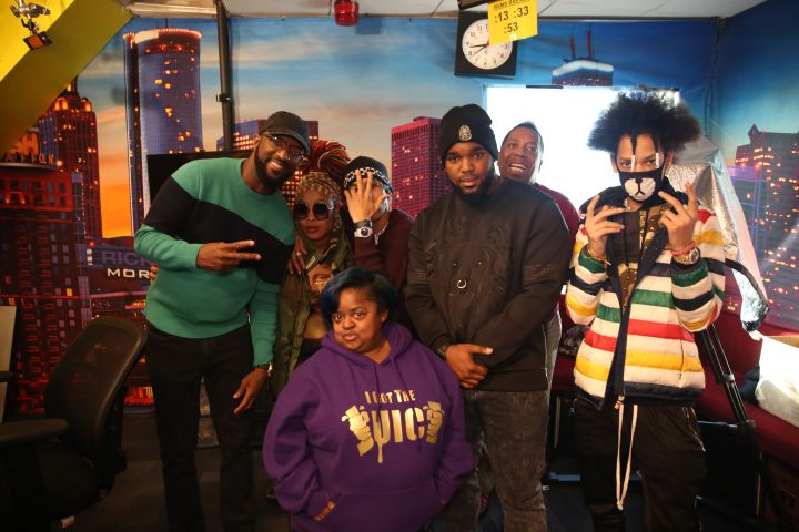 Rickey Smiley, Da Brat, Ayo, Juicy, Headkrack, Gary With Da Tea & Teo