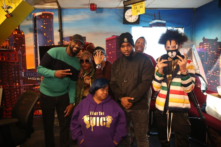 Rickey Smiley, Da Brat, Ayo, Juicy, Headkrack, Gary With Da Tea, Teo