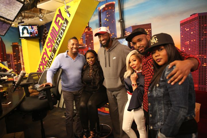 Xscape On The Rickey Smiley Morning Show