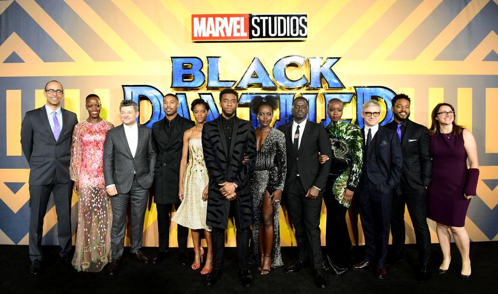 Black Panther European Premiere - London