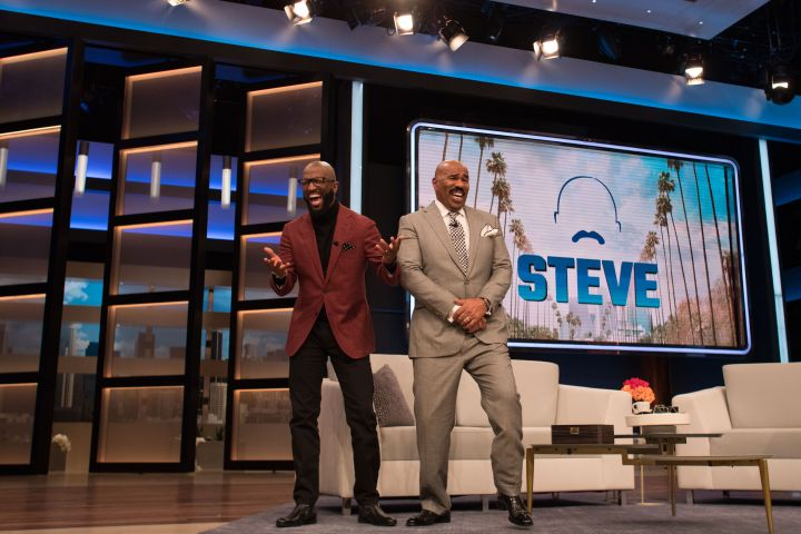"Rickey Smiley On Steve Harvey's Show ""Steve"""