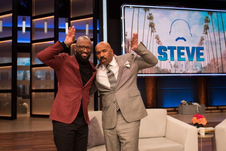 """Rickey Smiley On Steve Harvey's Show """"Steve"""""""