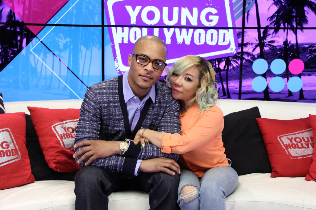 T.I. And Tiny Visit Young Hollywood Studio