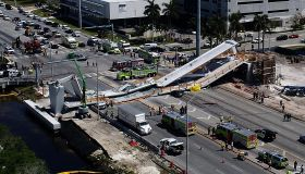 Pedestrian bridge collapse