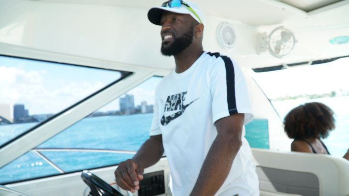 Rickey Smiley On The Water In Miami