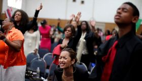 USA: Religion: Worshipers at Revival Church