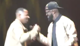 Rickey Smiley and Martin Lawrence