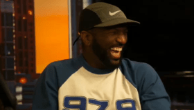 Rickey Smiley laughing