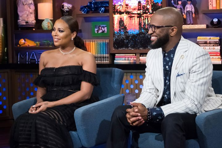 Eva Marcille & Rickey Smiley