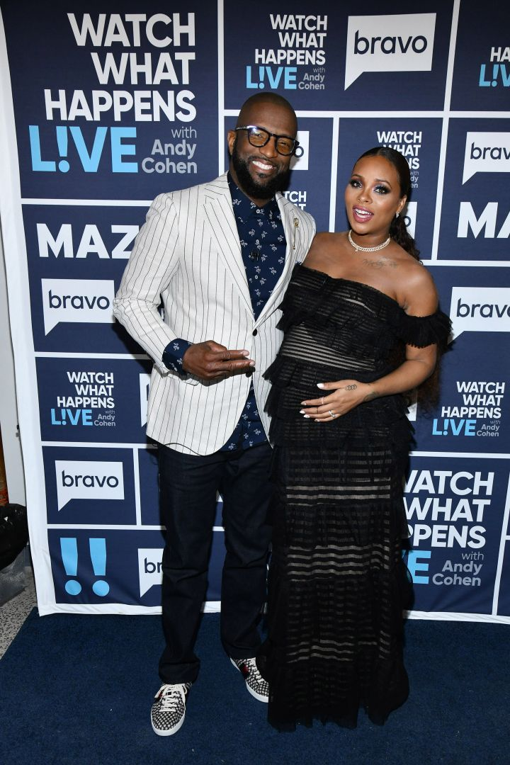 Rickey Smiley & Eva Marcille