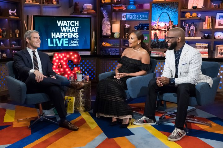 Andy Cohen, Eva Marcille & Rickey Smiley
