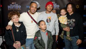 Marvel Studios Black Panther Advance Screening Hosted by Walmart and T.I.