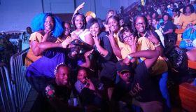 Rickey Smiley Hosts Atlanta Greek Picnic Step Show