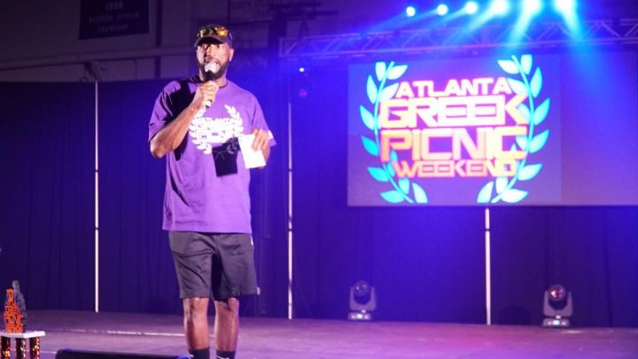 Rickey Smiley Hosts Atlanta Greek Picnic Step Show