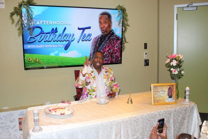 Gary With Da Tea Afternoon Tea Birthday Party
