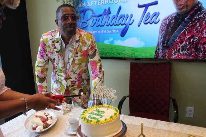 Gary With Da Tea Birthday Afternoon Tea Birthday Party