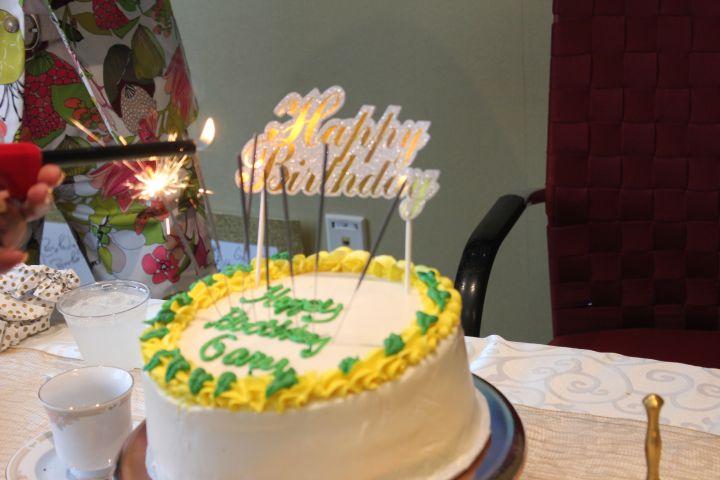 Afternoon Tea Birthday Cake For Gary With Da Tea