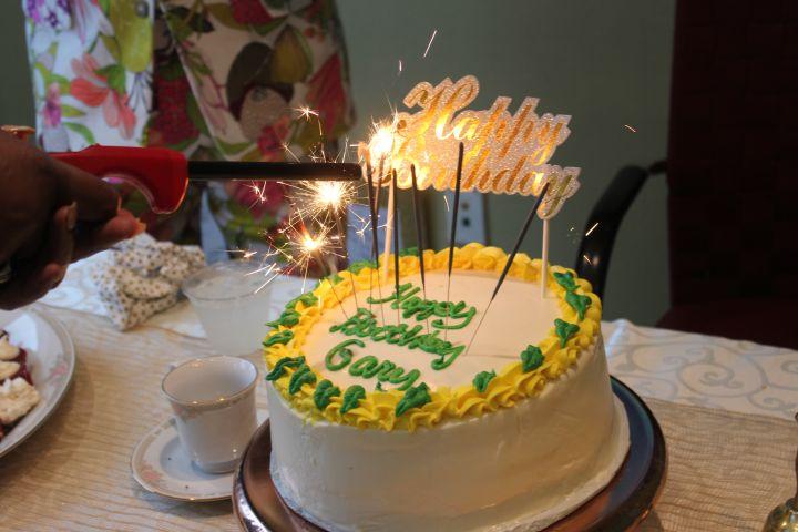 Gary With Da Tea's Birthday Cake