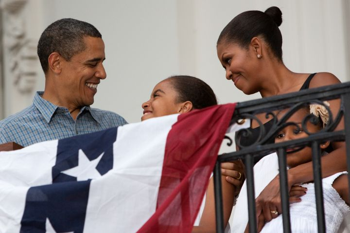 Obama Addresses Military Families At 4th Of July Celebration