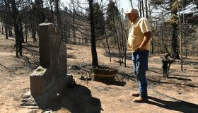 Family returns to home burned to the ground from the Spring Creek Fire.