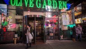 Olive Garden restaurant in New York