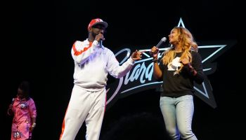 Rickey Smiley Hosts Karaoke Night at Star Dome with Eva Marcille