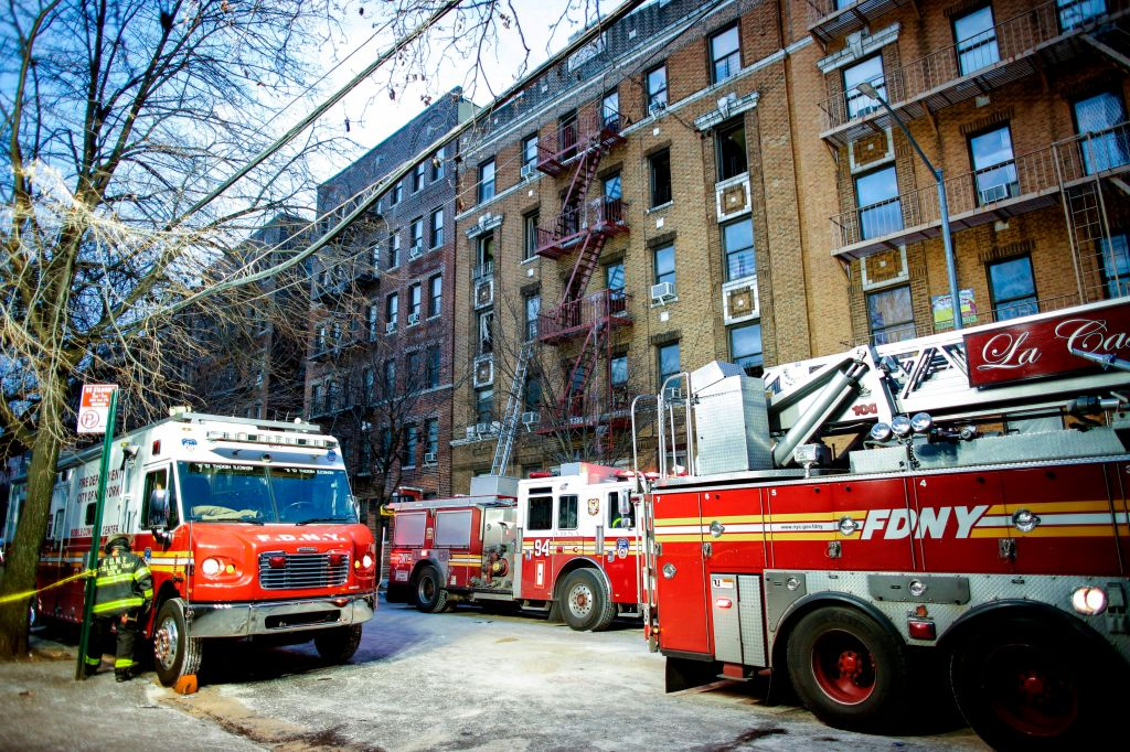 US-DISASTER-FIRE-NEW-YORK