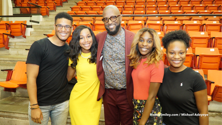 Rickey Smiley Visits Tuskegee University For ROTC Week