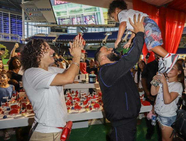 Asahd's 2nd Birthday & We The Best Foundation Launch