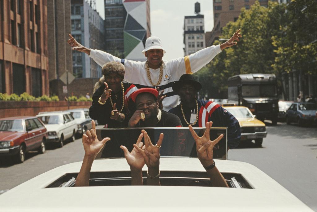 LL Cool J In Limousine