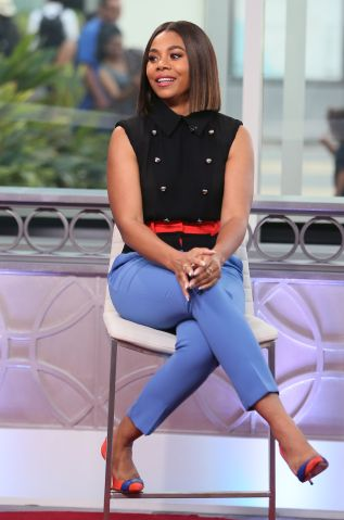 Regina Hall And Justina Machado Visit Hollywood Today Live