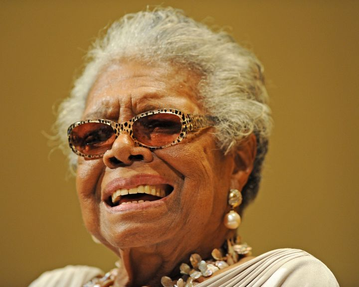 Maya Angelou, April 4th