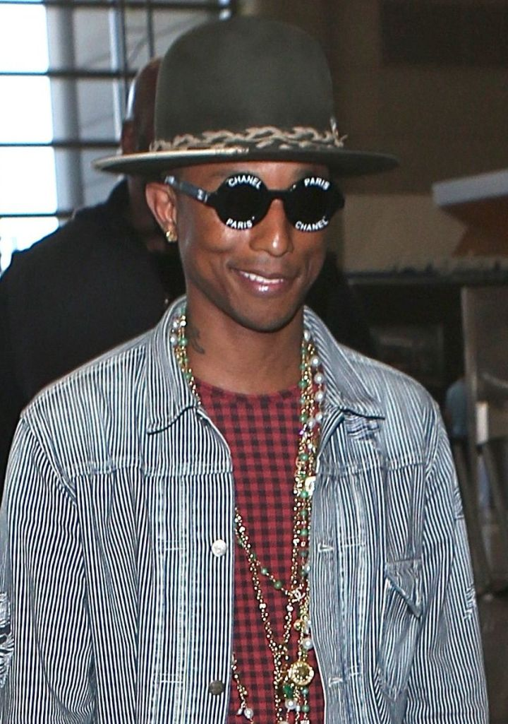 Pharell Williams, April 5th