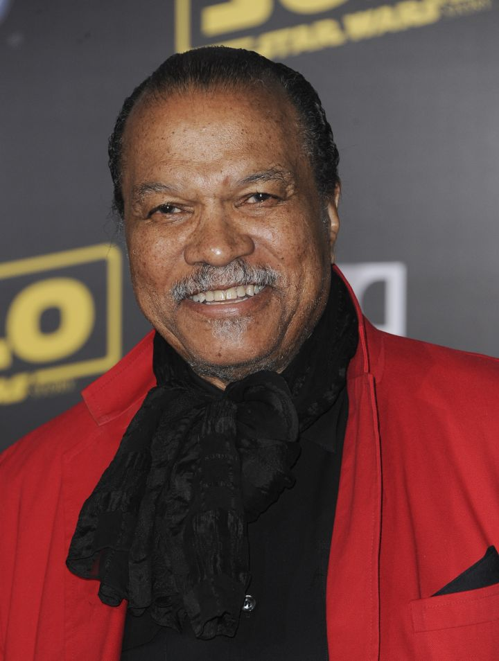 Billy Dee Williams, April 6th