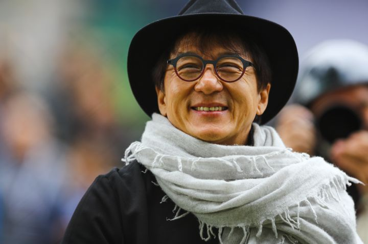 Jackie Chan, April 7th