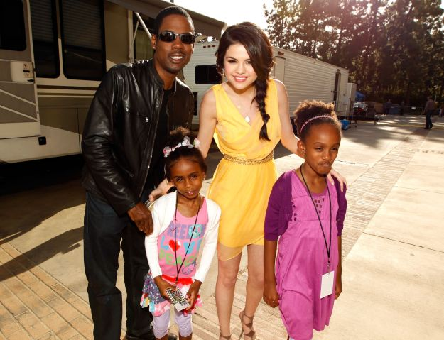 Chris rock selena gomez