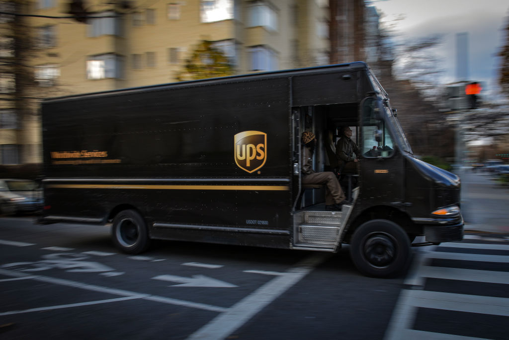 The rise in online shopping means heavy duty for delivery services, in Washington, DC.
