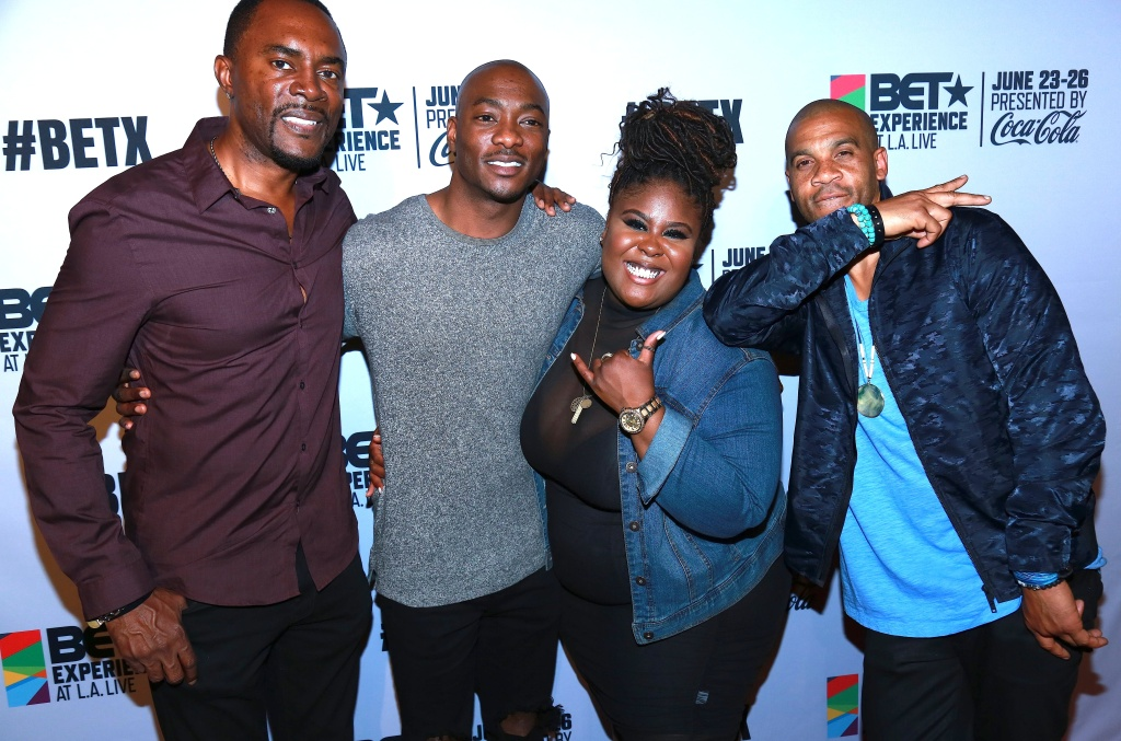 Apple Music and BET New Faces of R&B party