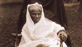 Harriet Tubman (1820-1913), American Abolitionist, Portrait in Rocking Chair at Home, Auburn, New York, USA, 1911