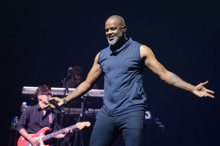 Brian McKnight Performs At L'Olympia In Paris