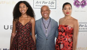 Celebs attend Russell Simmons Art for Life benefit