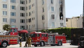 Ashley Greene condo fire