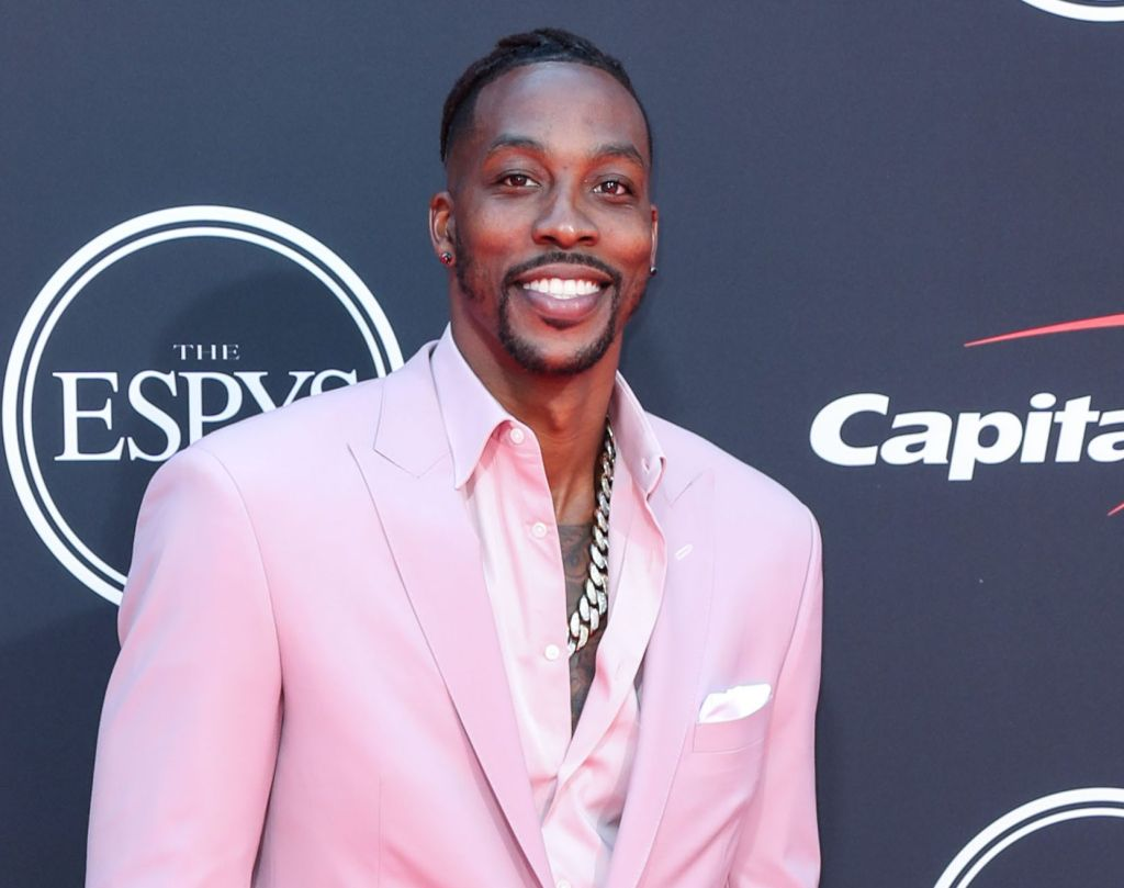 American basketball player Dwight Howard arrives at the 2019 ESPY Awards held at Microsoft Theater L.A. Live on July 10, 2019 in Los Angeles, California, United States. (Photo by Xavier Collin/Image Press Agency)